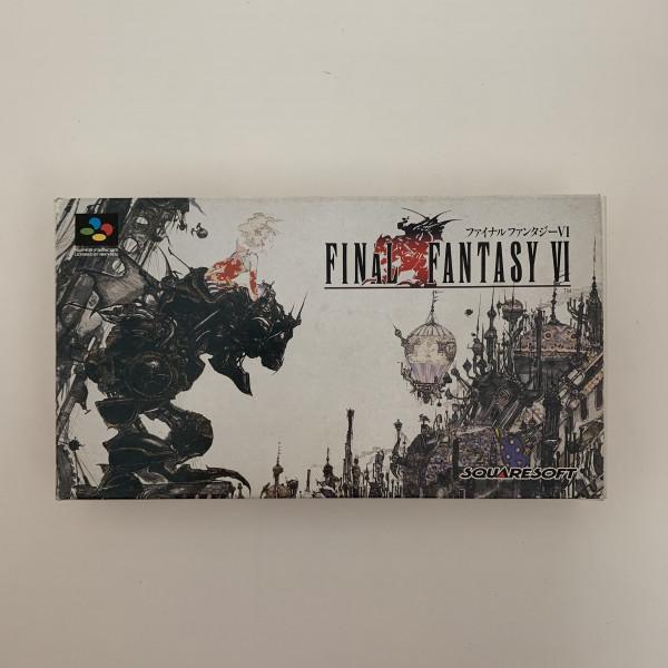 Final Fantasy VI - SFC - OVP