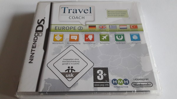 Travel Coach Europe 2 - DS