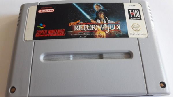 Super Star Wars - Return of the Jedi - SNES
