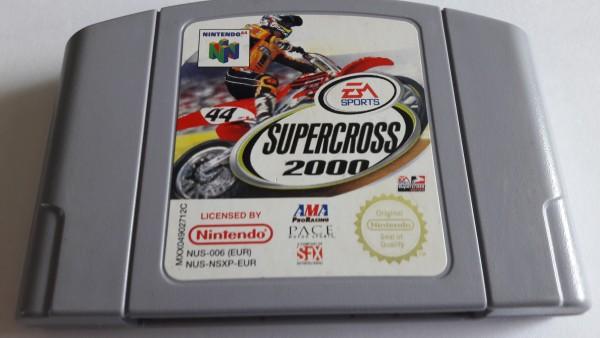 Supercross 2000 - N64