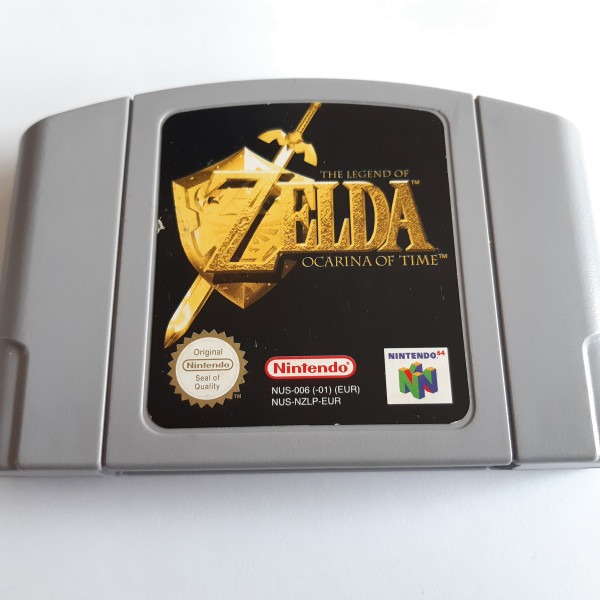 Zelda - Ocarina of Time - N64