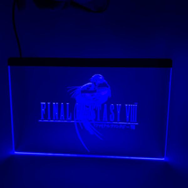 Final Fantasy LED Schild - Diverse Motive