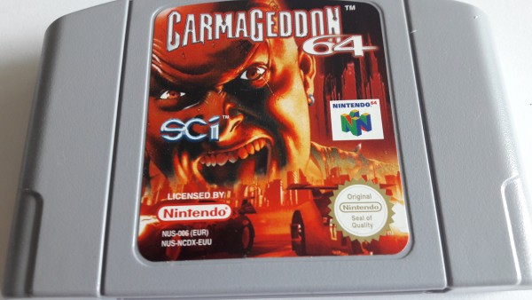 Carmageddon 64 - N64