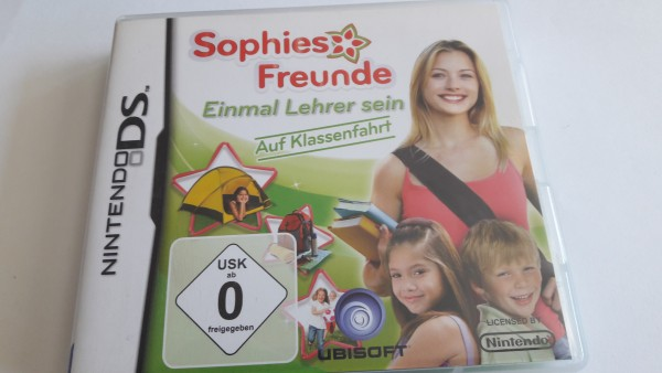 Sophies Freunde - Einmal Lehrer sein - Auf Klassenfahrt - DS