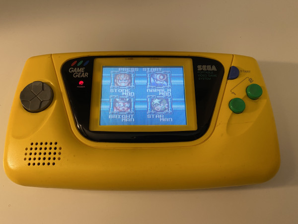 Game Gear Konsole Gelb