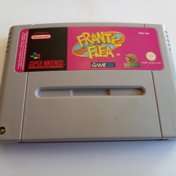 Frantic Flea - SNES