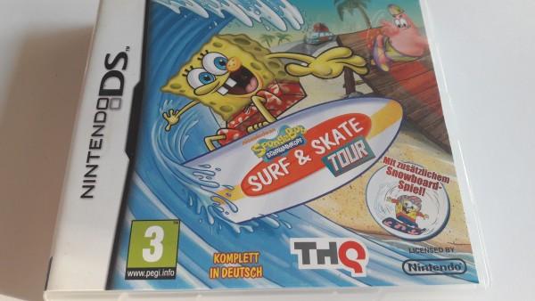 Spongebob Schwammkopf - Surf & Skate Tour - DS