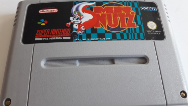 Mr. Nutz - SNES