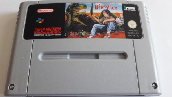 Dino City - SNES
