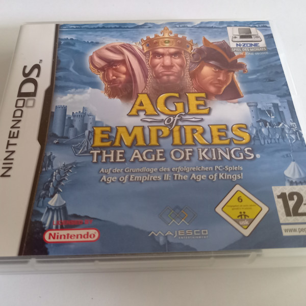 Age of Empires - The Age of Kings - DS