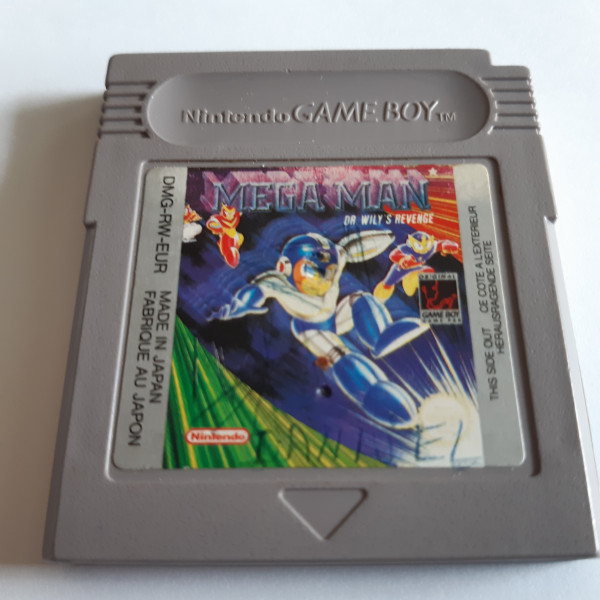 Mega Man - Dr. Wily's Revenge - Game Boy