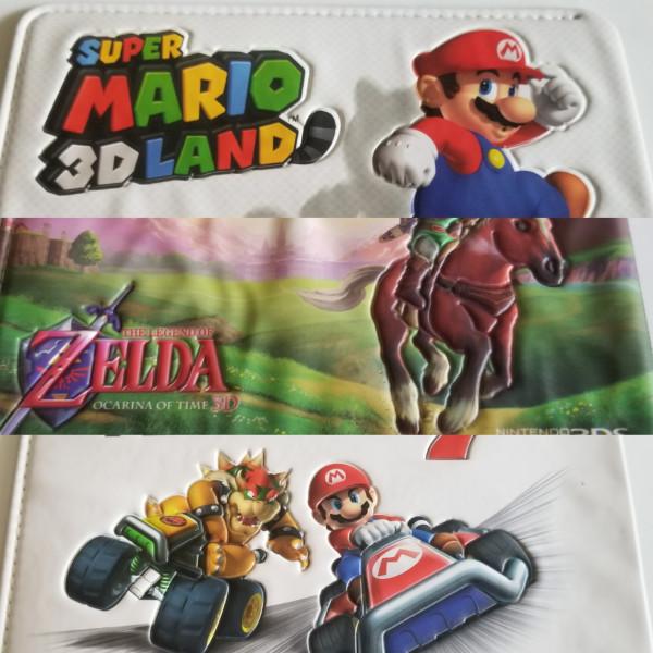 Nintendo 3DS Etui - Diverse Motive