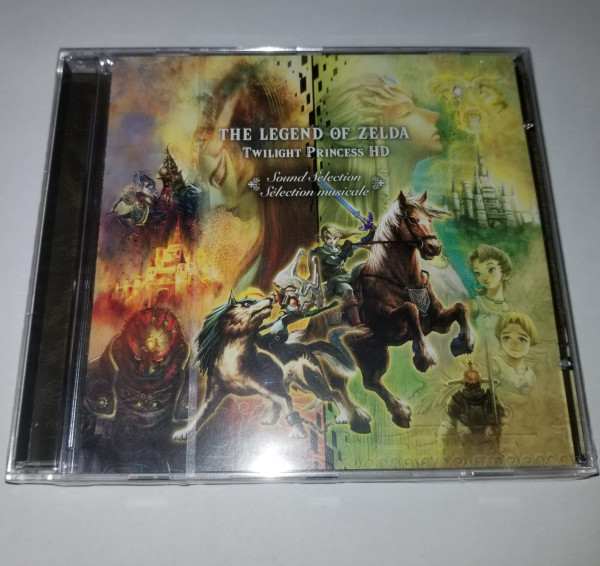 The Legend of Zelda - Twilight Princess HD - CD