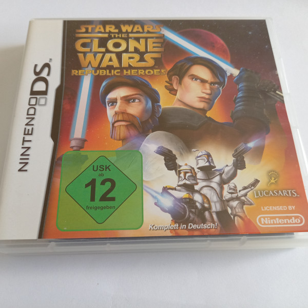 Star Wars - The Clone Wars - Republic Heroes - DS