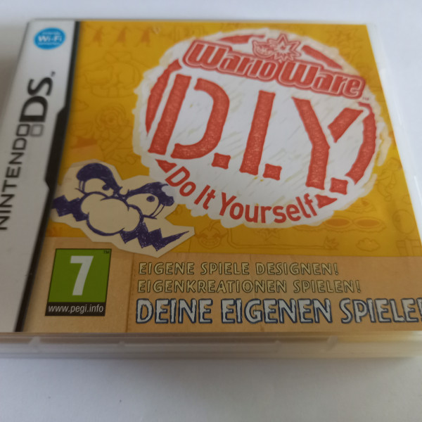 WarioWare D.I.Y. - Do It Yourself - DS