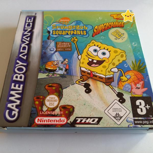 Spongebob Schwammkopf - Supersponge - GBA