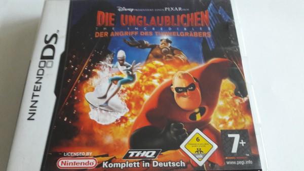 Die Unglaublichen - Der Angriff des Tunnelgräbers - DS