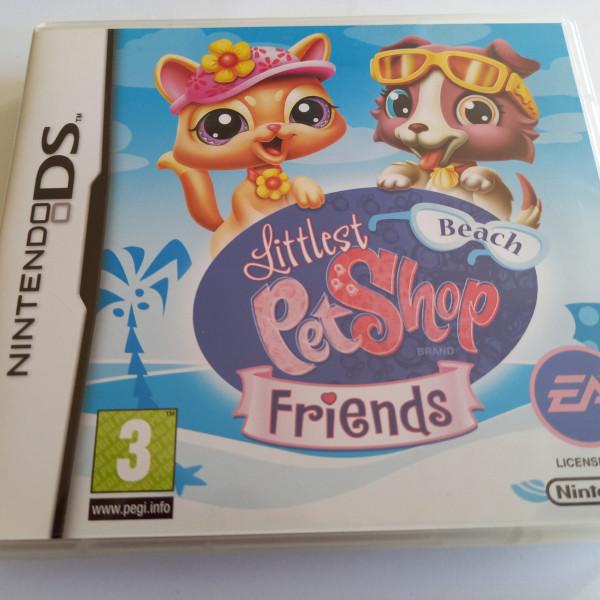 Littlest Pet Shop Friends - Beach - DS