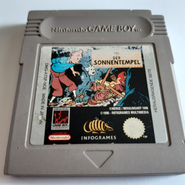 Tim - Der Sonnentempel - Game Boy