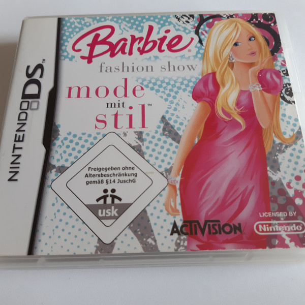 Barbie Fashion Show - Mode mit Stil - DS