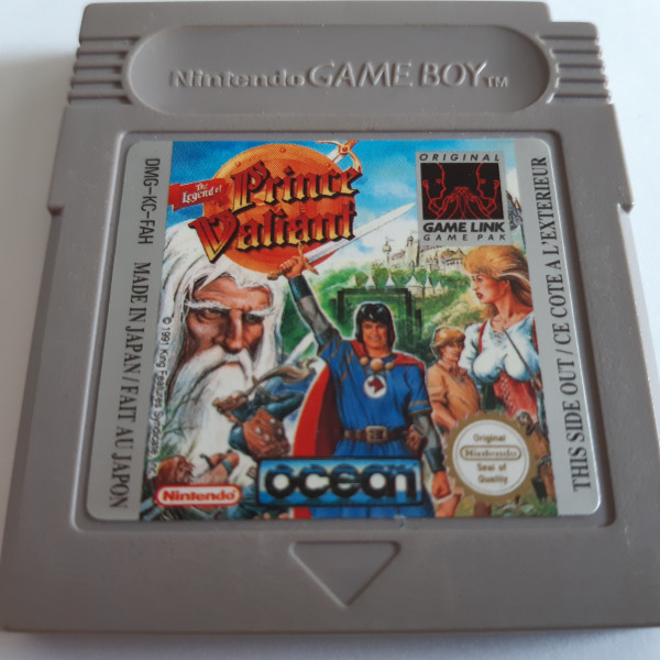 The Legend of Prince Valiant - Game Boy