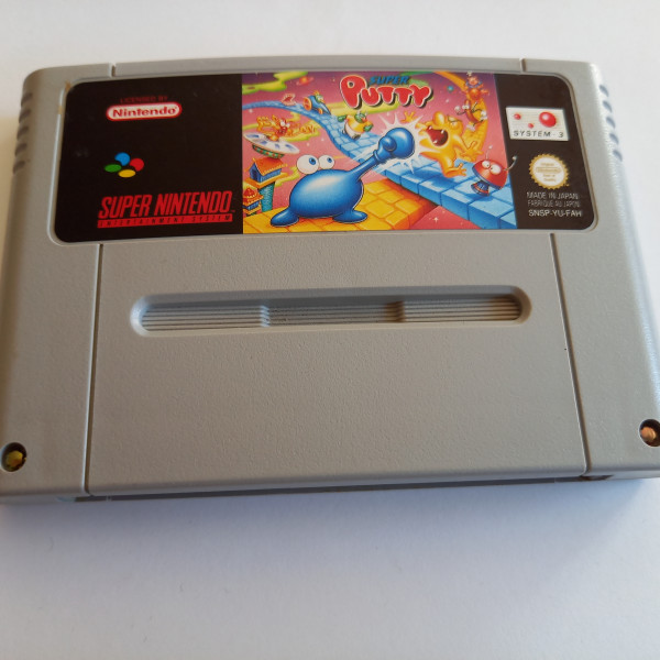 Super Putty - SNES