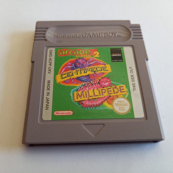 Arcade Classic 2 - Centipede / Millipede - Game Boy
