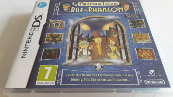 Professor Layton und der Ruf des Phantoms - DS