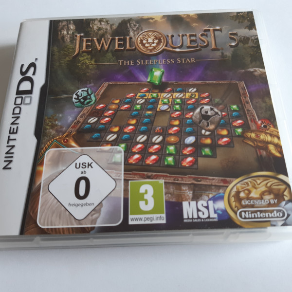 Jewel Quest 5 - The Sleepless Star - DS