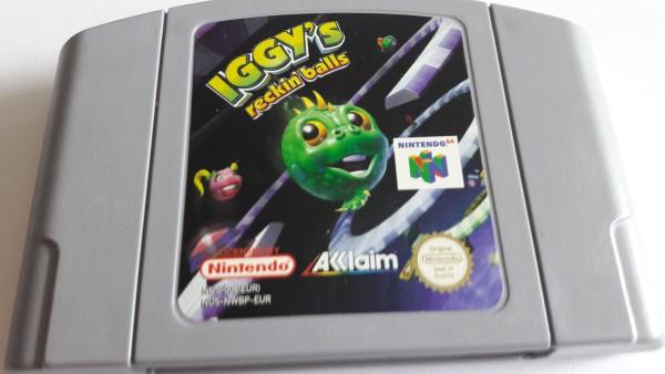 Iggy`s Reckin Balls - N64