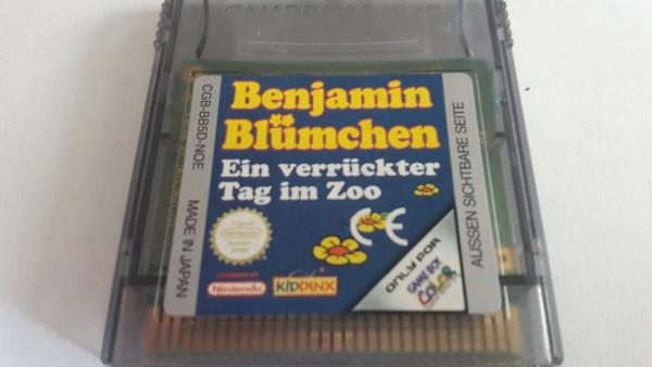 Benjamin Blümchen - Ein verrückter Tag im Zoo - GBC