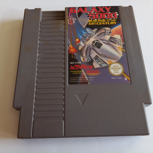 Galaxy 5000 - Racing in the 51st Century - NES