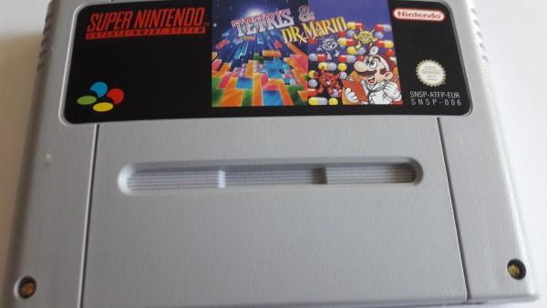 Tetris & Dr. Mario - SNES