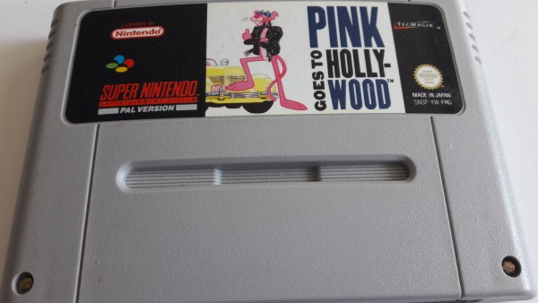 Pink goes to Hollywood - SNES