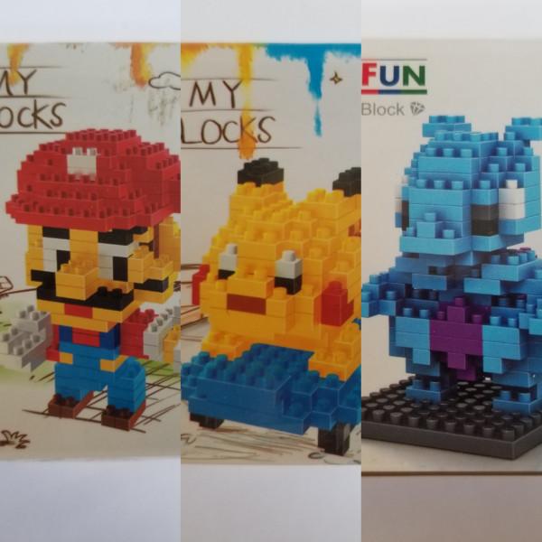 Mario & Pokemon - My Blocks - Klemmbausteine