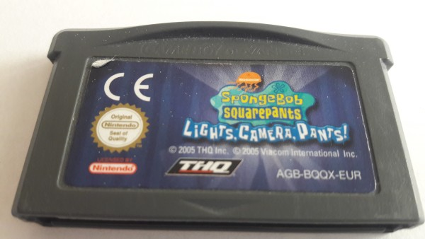 Spongebob Schwammkopf - Lights, Camera, Pants - GBA