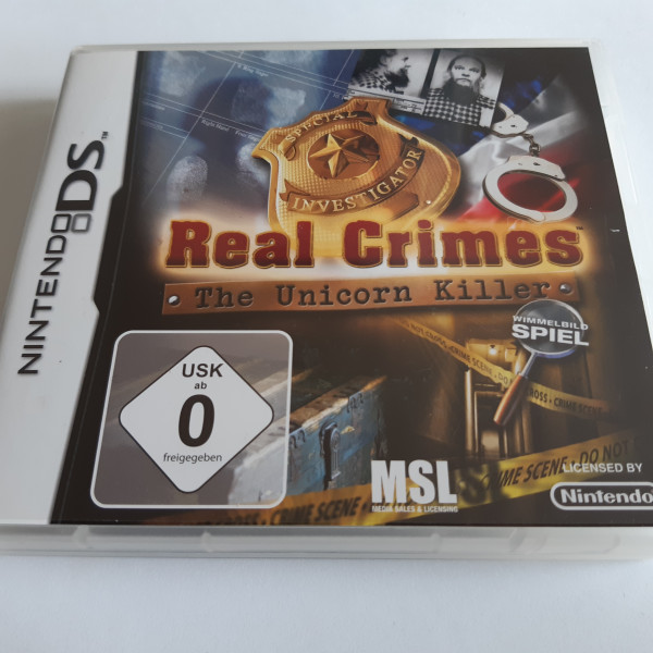 Real Crimes - The Unicorn Killer - DS