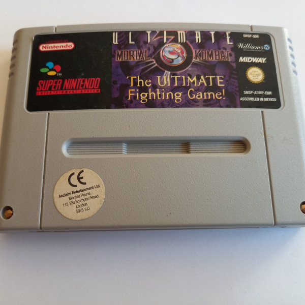 Ultimate Mortal Kombat 3 - SNES