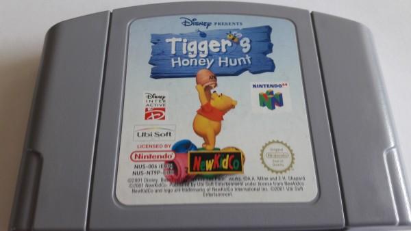 Tiggers Honey Hunt - N64