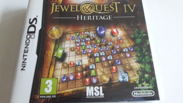 Jewel Quest IV - Heritage - DS