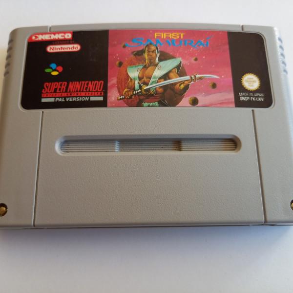 First Samurai - SNES