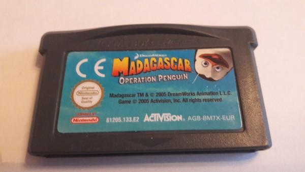 Madagascar - Operation Penguin - GBA