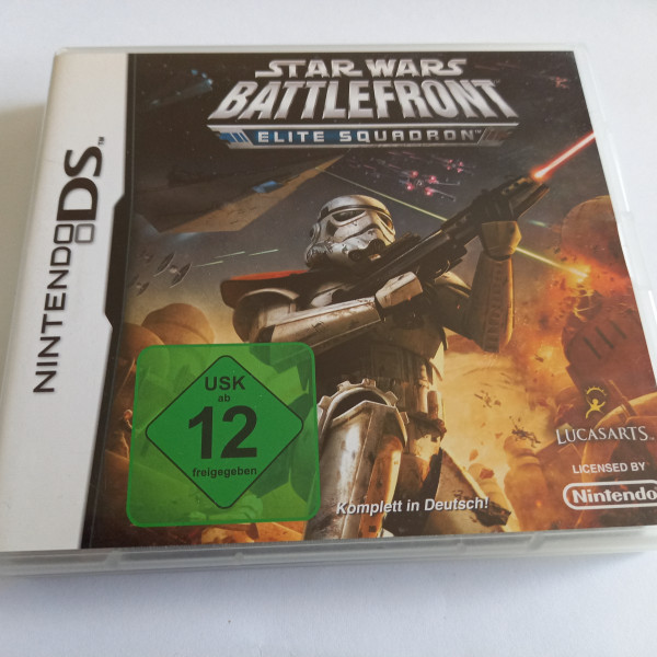 Star Wars Battlefront - Elite Squadron - DS