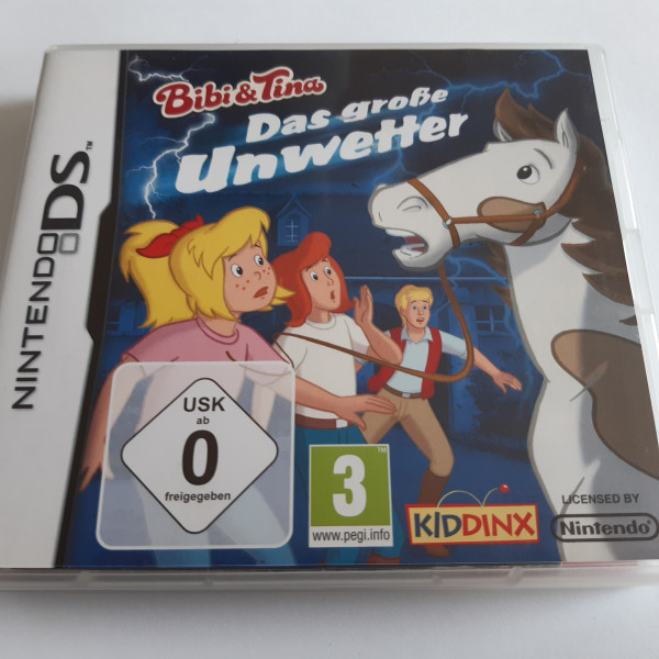 Bibi & Tina - Das grosse Unwetter - DS