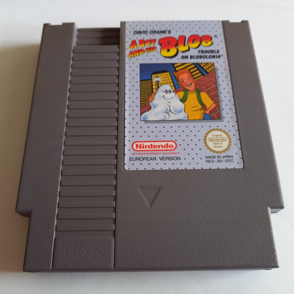 A Boy and his Blob - NES