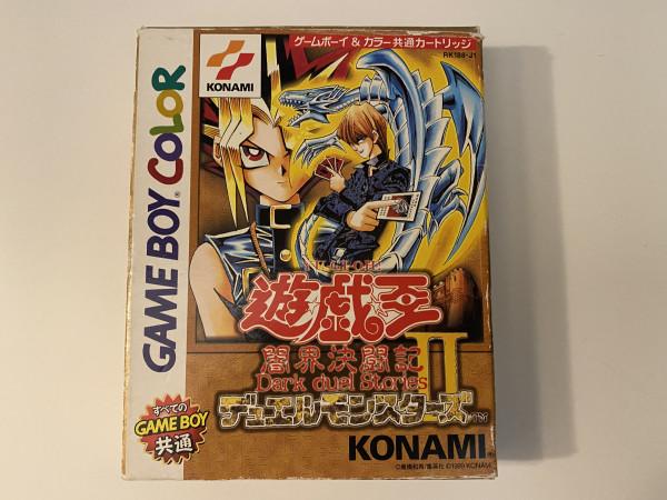 Yu-Gi-Oh! Duel Monsters II - Dark Duel Stories - GBC - OVP