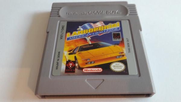 Lamborghini American Challenge - Game Boy