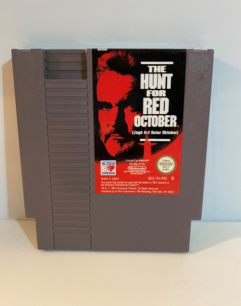 The Hunt for Red October - NES