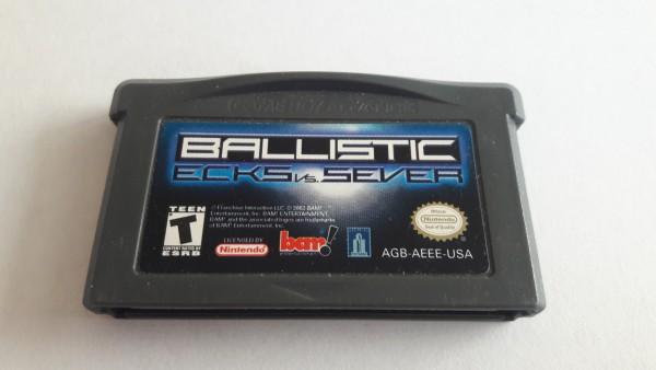 Ballistic - Ecks vs. Sever - GBA