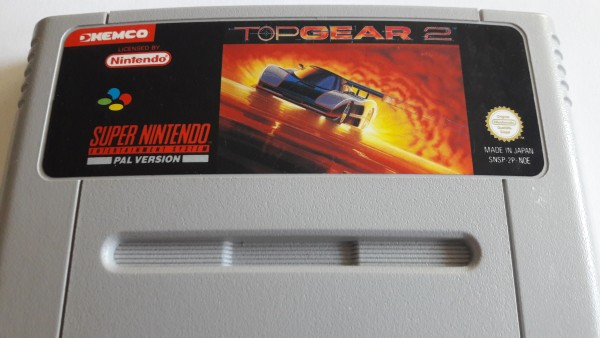 Top Gear 2 - SNES